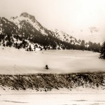 Old Snow - Artistic Photography, Alps